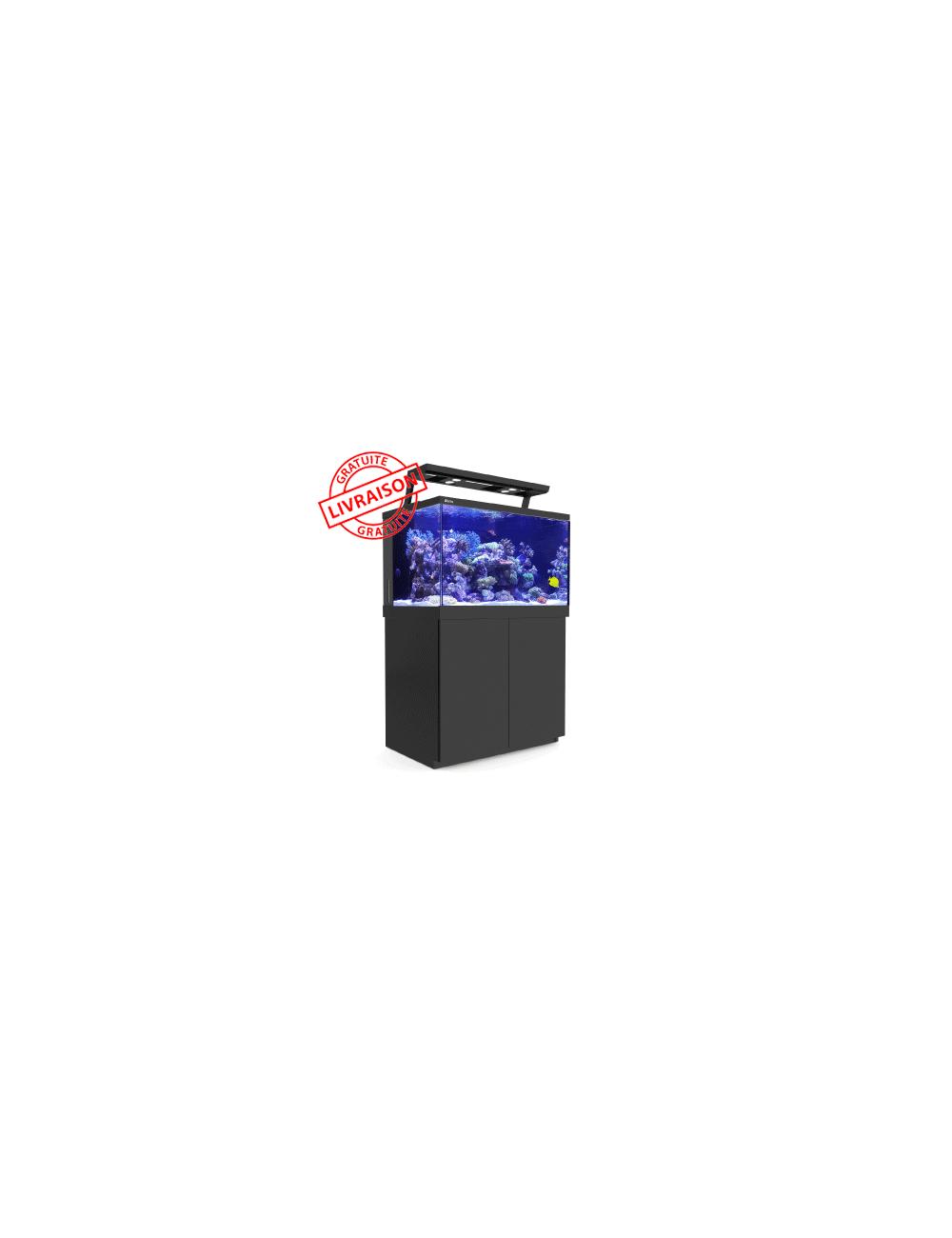 RED SEA - Aquarium Max® S-400 + LED 2x AI Hydra 26™ HD - Meuble noir - 400 litres