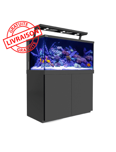 RED SEA - Aquarium Max® S-500 + LED 3x AI Hydra 26™ HD - Meuble noir - 500 litres