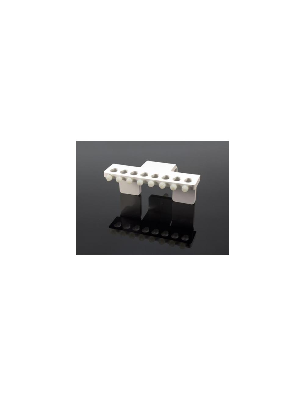 AQUACONNECT - Support de fixation pour 8 tuyaux de pompes doseuses