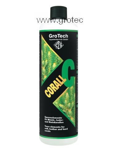 GROTECH - Corall C - 500ml - Oligo-éléments pour aquarium