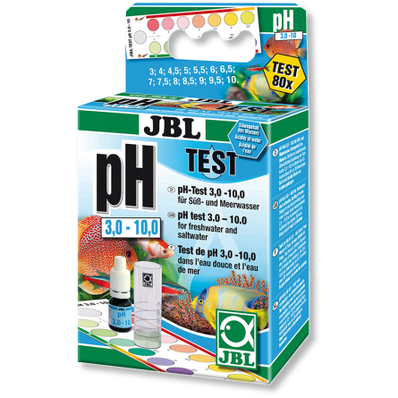JBL - Test pH échelle 3,0-10,0 - 80 mesures