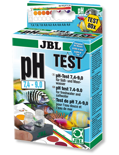 JBL - Test pH 7,4-9,0 - 80 mesures