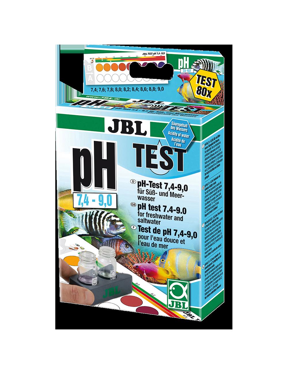 JBL - Test pH 7,4-9,0 - 80 mesures
