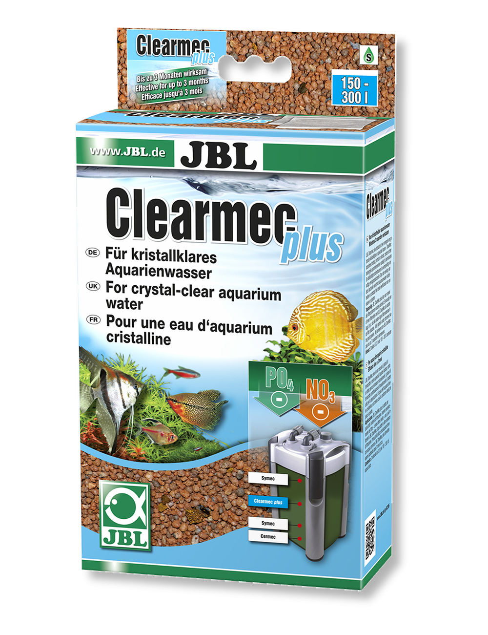 JBL - ClearMec plus - 2 x 300ml - 450gr