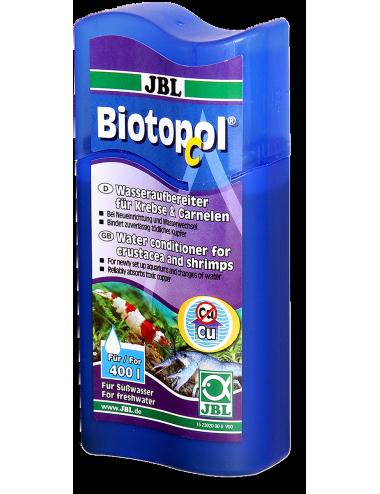 JBL -  Biotopol C - Conditionneur d'eau pour crustacés et crevettes - 100ml