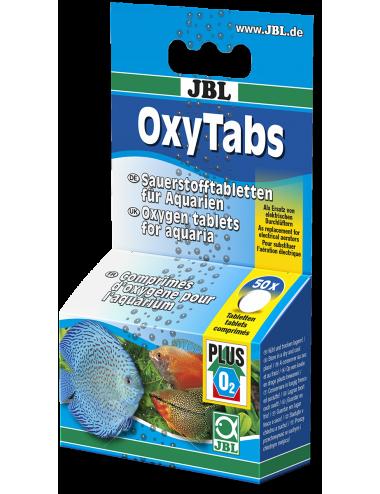 JBL - OxyTabs - Comprimés d'oxygène - 50 Tabl.