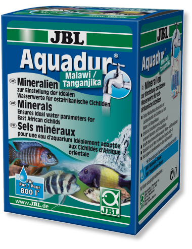JBL - AquaDur Malawi/Tanganjika - Conditionneur d'eau - 250g