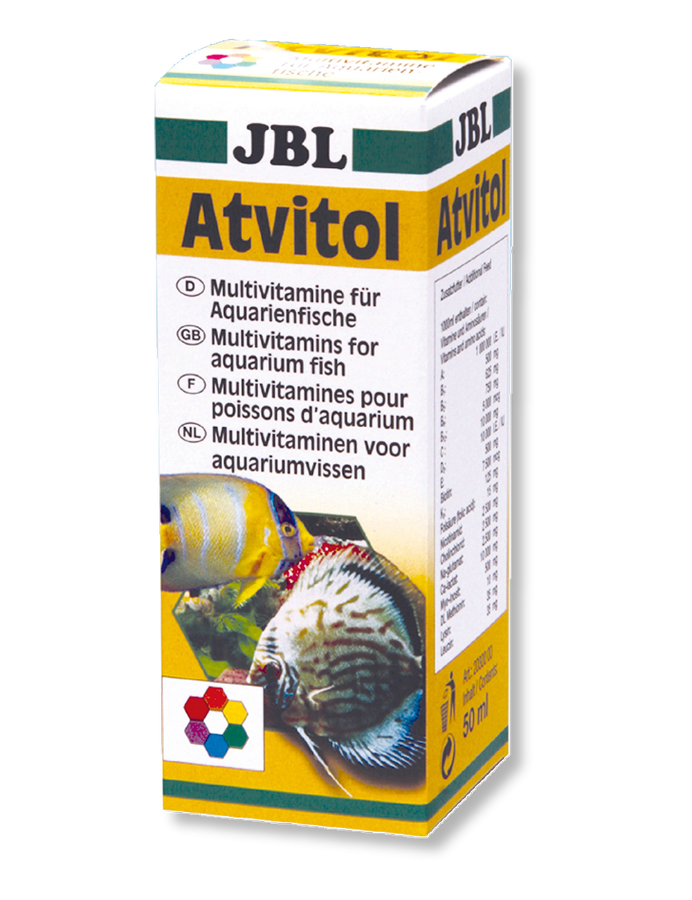 JBL - Atvitol - Multivitamines - 50 ml
