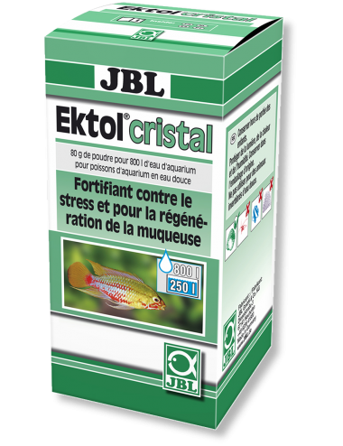 JBL - Ektol Cristal - Anti bactéries et parasites - 80g