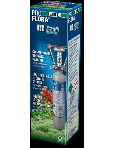 JBL - ProFlora m500 SILVER - Bouteille de CO2 rechargeable