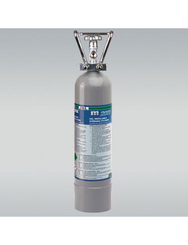 JBL - ProFlora m2000 SILVER - Bouteille de CO2 rechargeable - 2kg
