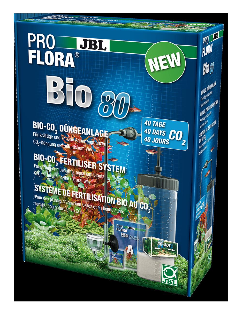 JBL - ProFlora bio80 2 - 40 jours