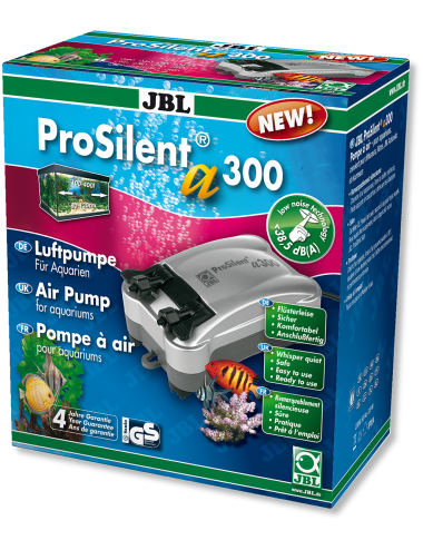 JBL - ProSilent a300  - Pompe à Air Silencieuse - 300 l/h