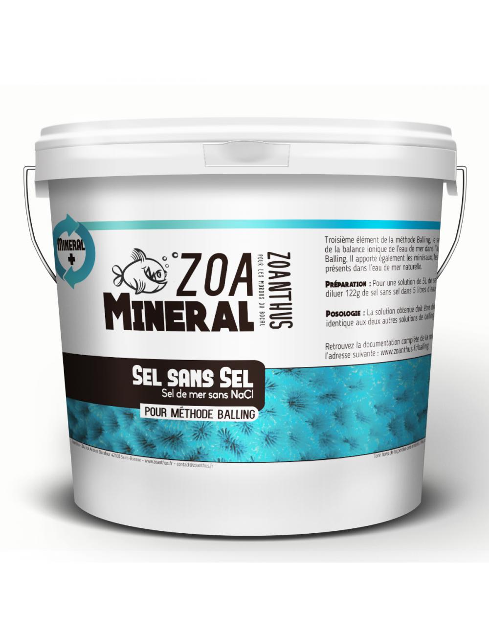 - ZOANTHUS.fr - 5kg Zoa Mineral - « sels sans sel »