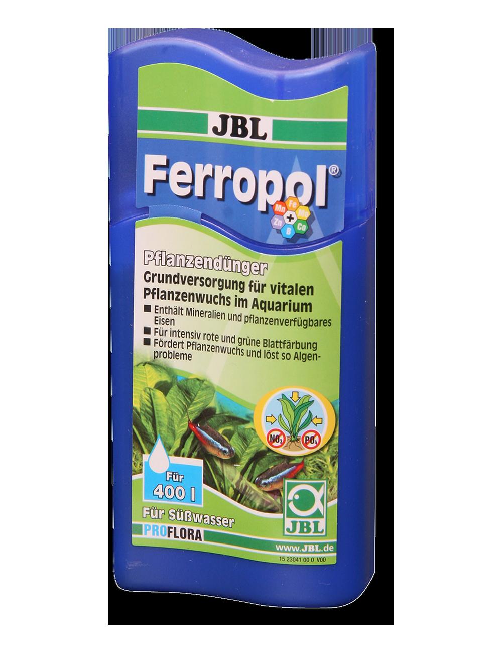 JBL - Ferropol - Fertilisant pour plantes - 500ml