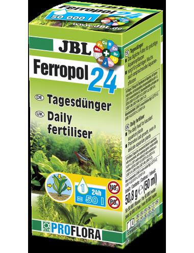 JBL - Ferropol 24 - Engrais pour plantes - 50ml