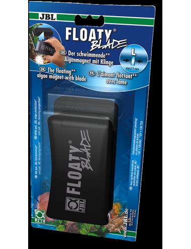 JBL - Floaty L Blade - Aimant nettoyeur avec lame - Vitre 15mm max