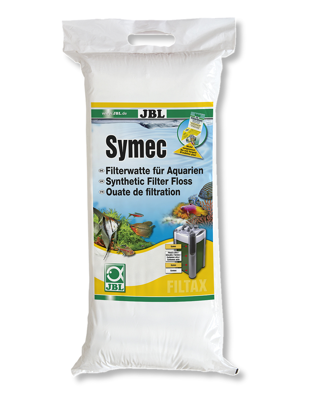 JBL - Symec Ouate filtrante fine - 250g