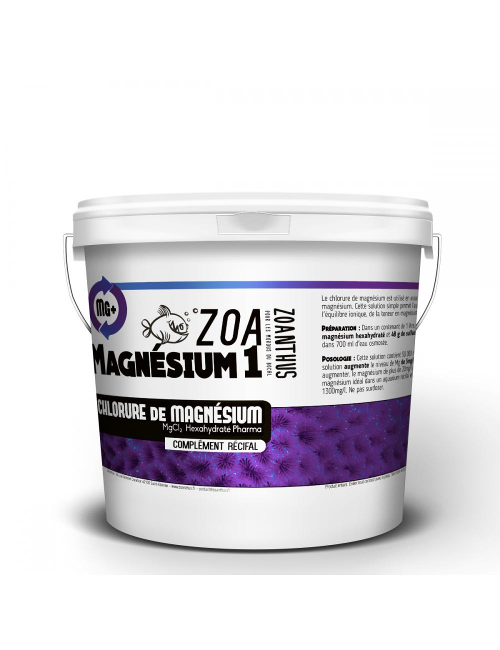 - ZOANTHUS.fr 2.5kg Chlorure de magnésium hexahydraté