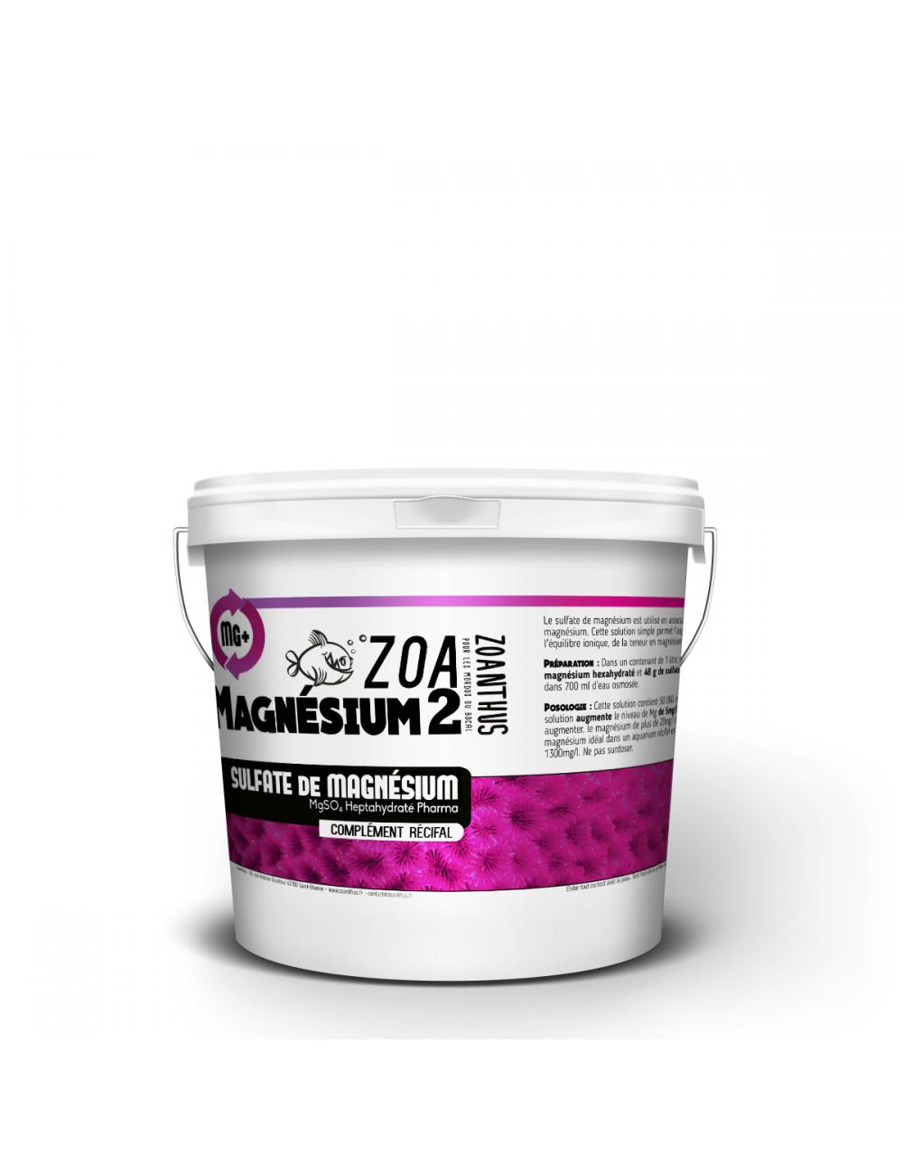 - ZOANTHUS.fr 1kg Sulfate de magnésium heptahydraté