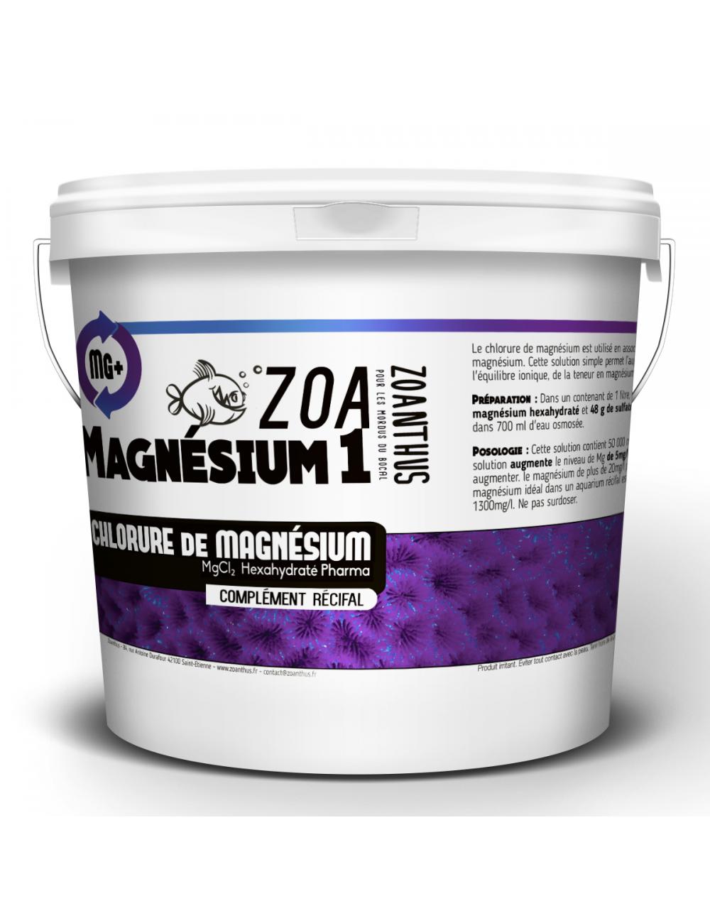- ZOANTHUS.fr 5kg Chlorure de magnésium hexahydraté