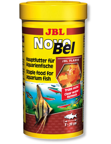 JBL - NovoBel - Aliment de base en flocons - 1l