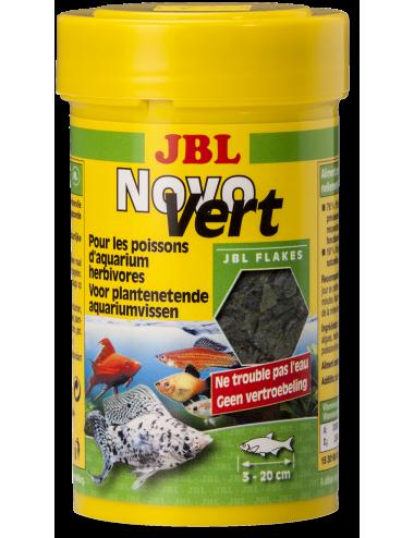 JBL - NovoVert - Aliment de base pour poissons herbivores - 100ml