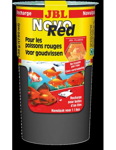 JBL - NovoRed Recharge 130g - Aliment de base pour poissons rouges - 750ml