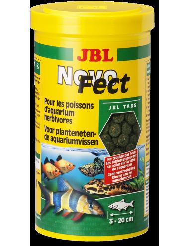 JBL - NovoFec 250ml - Nourriture en tablettes pour poissons herbivores