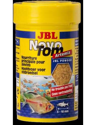 JBL - NovoTom Artemia 100ml - Nourriture pour alevins de poissons vivipares