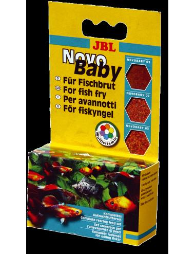 JBL - NovoBaby 3x10ml - Kit complet pour le nourrissage des alevins