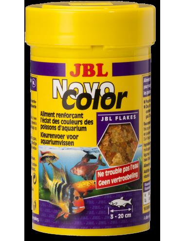 JBL - NovoColor 250ml - Nourriture pour poissons d'aquarium colorés