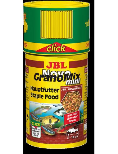 JBL - NovoGranomix Mini Click 100ml - Nourriture pour poissons de petite et moyenne taille