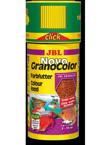 JBL - NovoGranoColor Click 250ml - Nourriture pour poissons hauts en couleurs