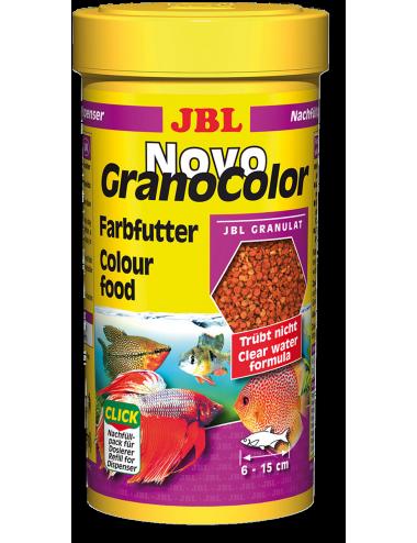 JBL - NovoGranoColor 250ml - Nourriture pour poissons hauts en couleurs