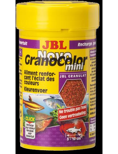 JBL - NovoGranoColor Mini 100ml - Nourriture pour poissons hauts en couleurs