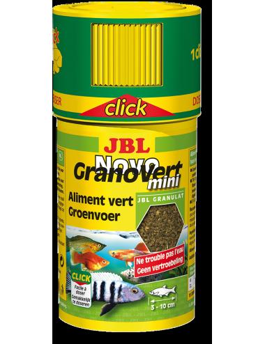 JBL - NovoGranoVert mini Click 100ml - Nourriture pour poissons herbivores