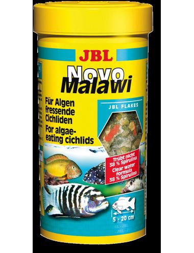 JBL - NovoMalawi 250ml - Nourriture pour Cichlidés algivores