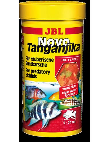 JBL - NovoTanganjika 250ml - Nourriture pour Cichlidés prédateurs