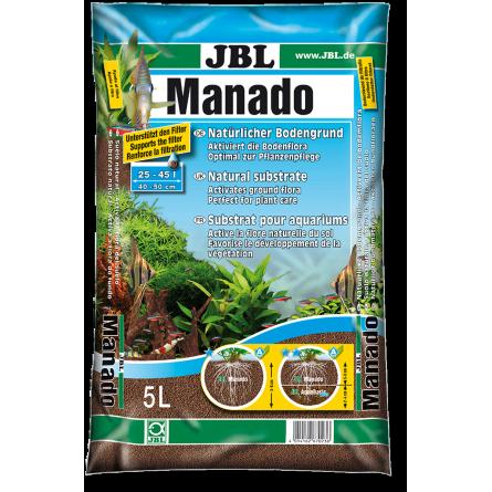jbl manado 10l substrat de sol naturel pour aquariums d 39 eau douce. Black Bedroom Furniture Sets. Home Design Ideas