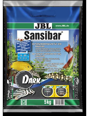 JBL - Sansibar BLACK 10kg - 0.2 - 0.6mm - Substrat de sol noir pour aquariums
