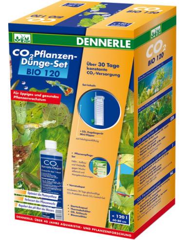 DENNERLE - CO2 BIO 120 - Kit CO2 pour Aquarium