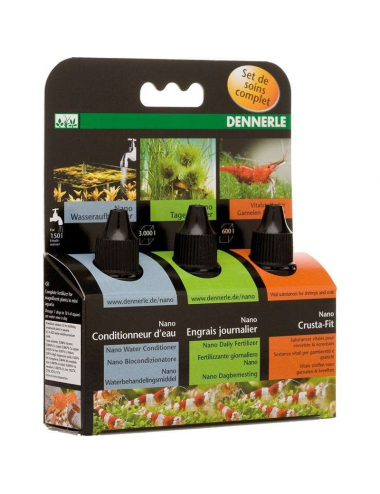 DENNERLE - Nano Set de soins : engrais, conditionneur, vitamines