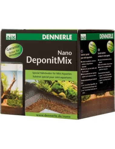 DENNERLE - Nano Deponit Mix - 1 kg - Substrat nutritif pour nano aquariums