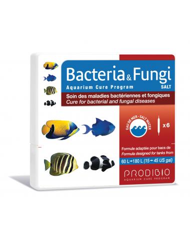 PRODIBIO - Bacteria & Fungi Salt 6 ampoules - Soin des maladies bactériennes et fongiques