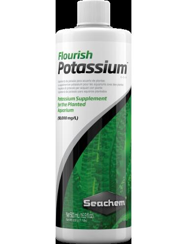 SEACHEM - Flourish Potassium 500ml - Potassium liquide pour plante