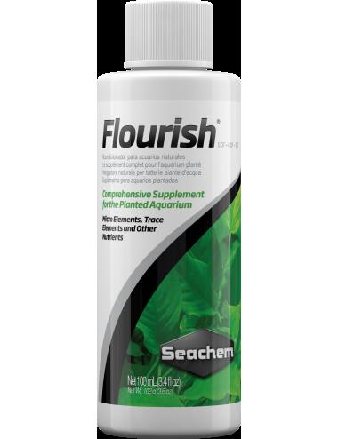SEACHEM - Flourish 100ml - Stimulateur de croissance