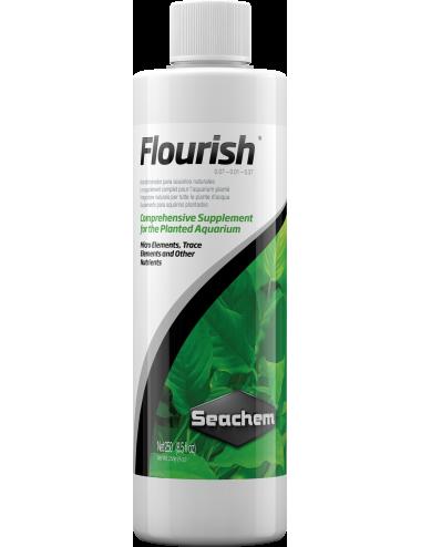 SEACHEM - Flourish 250ml - Stimulateur de croissance