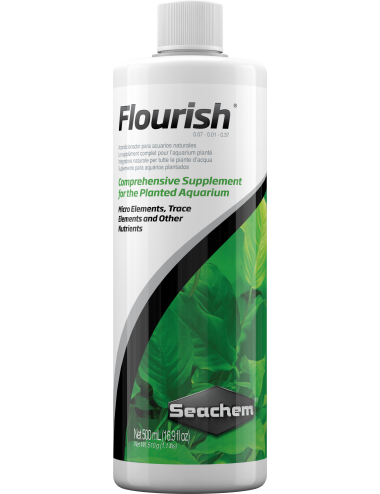 SEACHEM - Flourish 500ml - Stimulateur de croissance