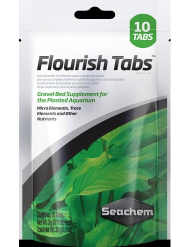 SEACHEM - Flourish Tabs 10 comprimés - Stimulateur de croissance